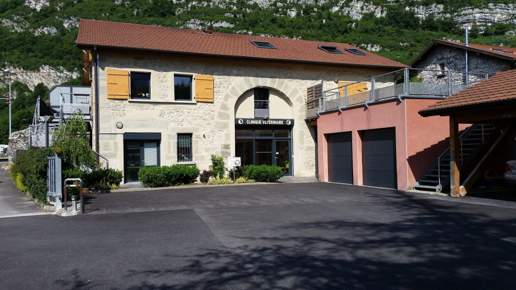 La clinique vétérinaire de la Tivollière