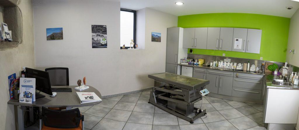 Salles de consultation de la clinique vétérinaire de la Tivollière